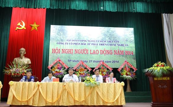 Hội nghị người lao động năm 2014